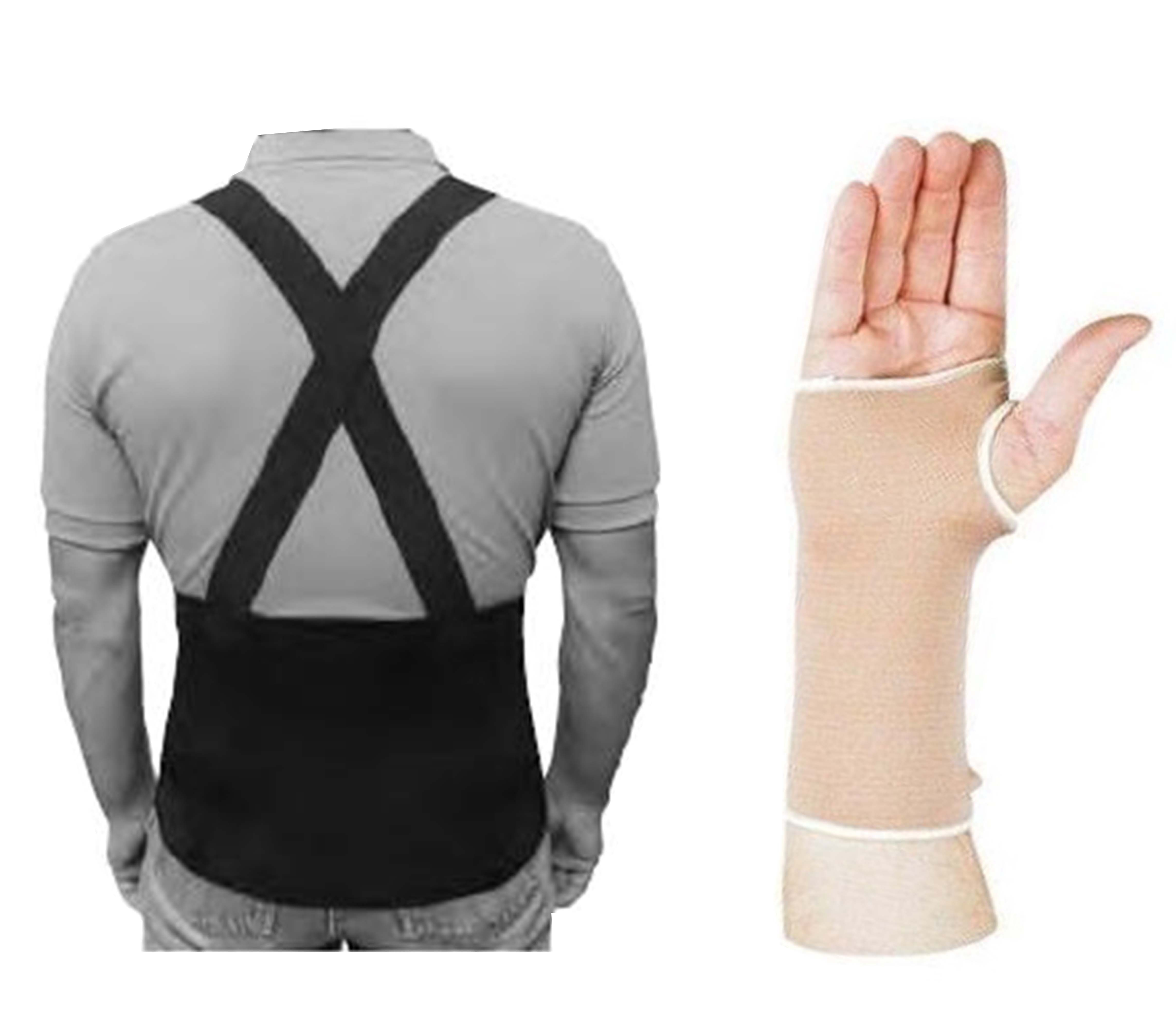 Back, Wrist, Elbow And Knee Supports