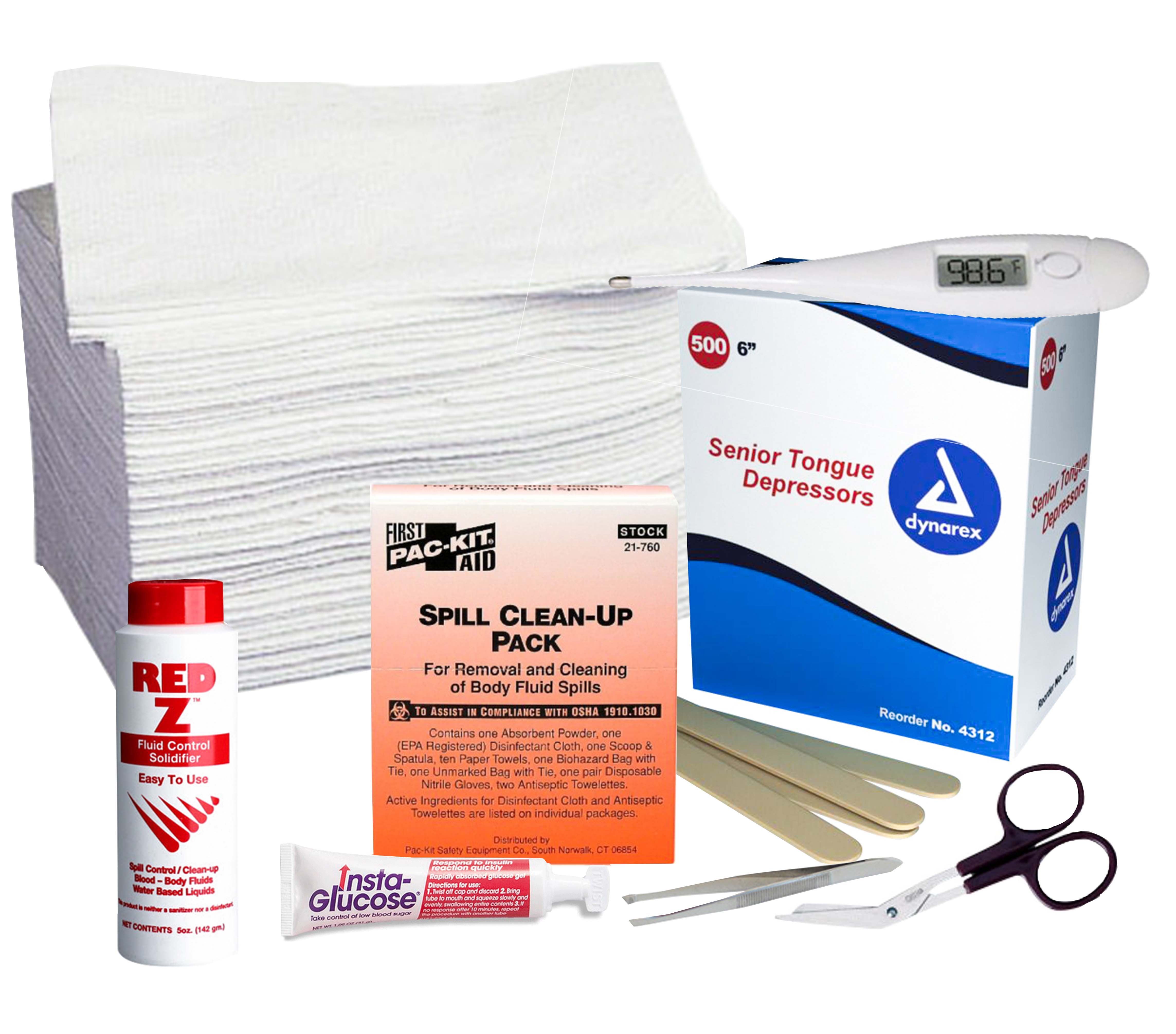 First Aid Room Supplies