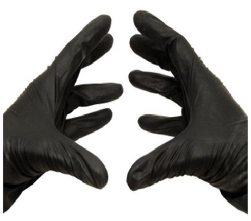 Black - Powder-Free: 5 Mil