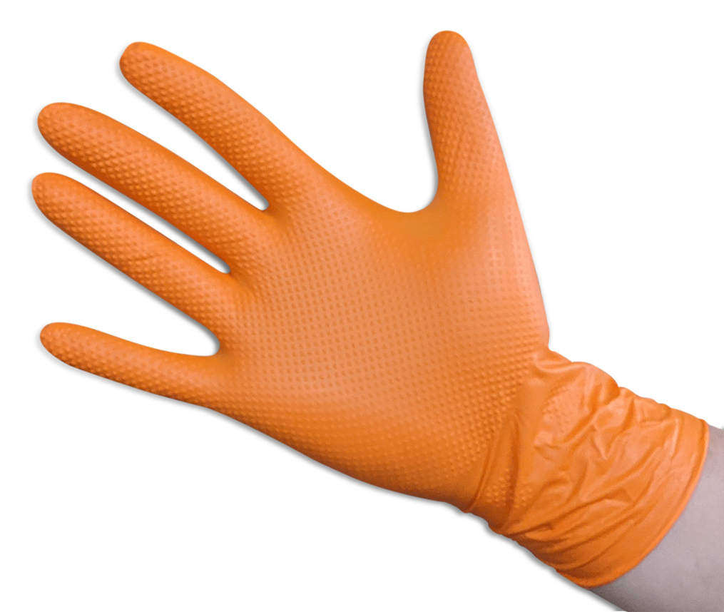 Orange - Powder Free: 7 Mil